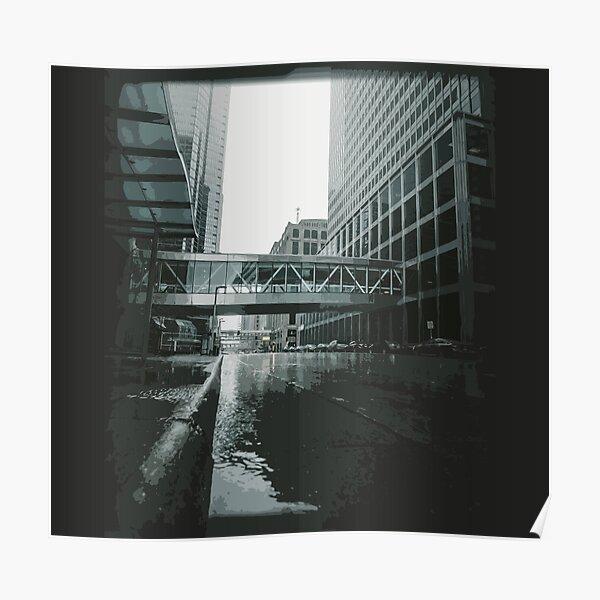 Architecture of Minneapolis USA - Skyscaper in Minneapolis USA Poster