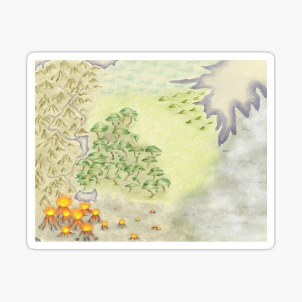 Fantasy Map Paint Sticker