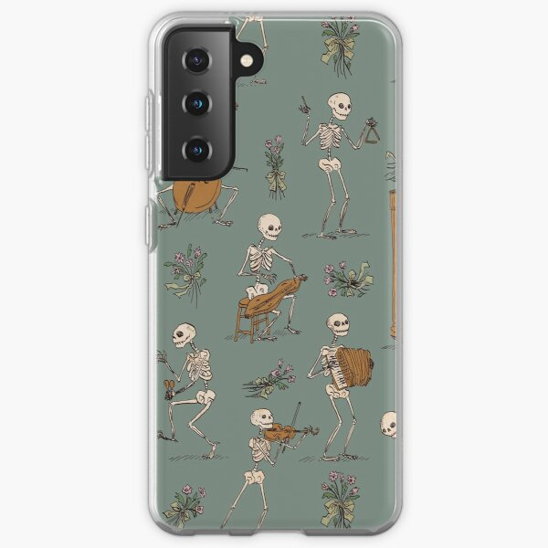 Skeleton orchestra Samsung Galaxy Soft Case