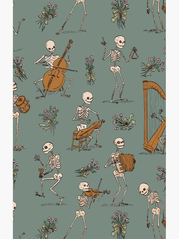 Skeleton orchestra by tanaudel
