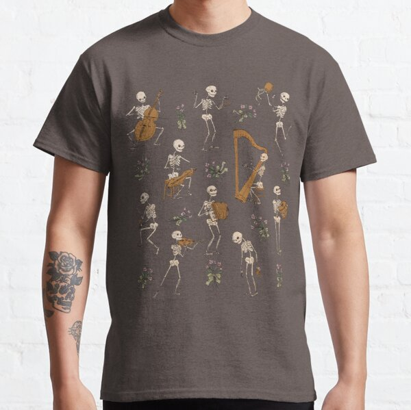 Skeleton orchestra Classic T-Shirt