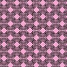 Pink & Black Box Pattern by Louise Norman