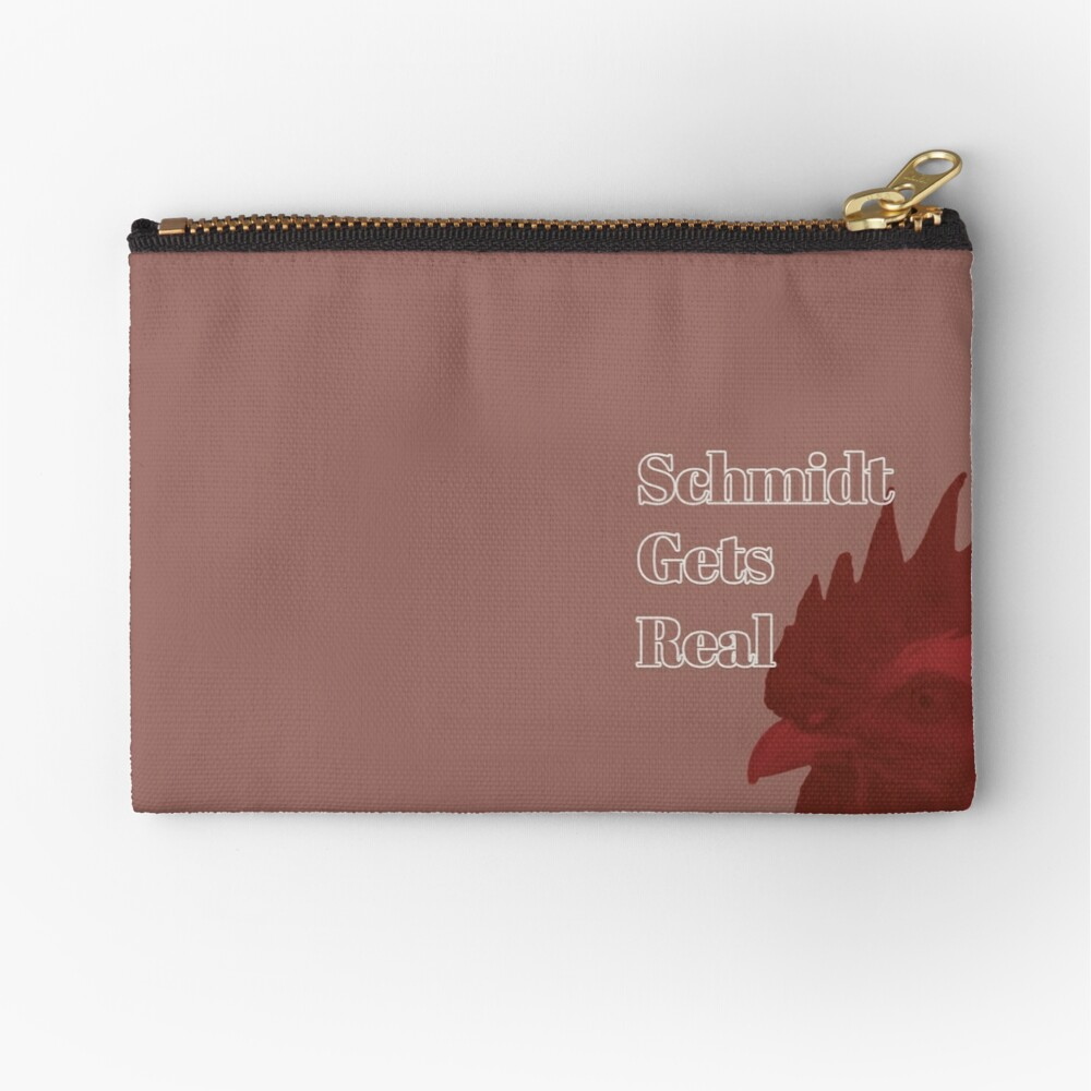 Schmidt Gets Real Zipper Pouch