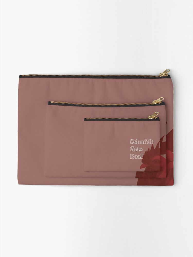 Alternate view of Schmidt Gets Real Zipper Pouch
