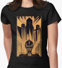 Movie Poster Merchandise Women's Fitted T-Shirt