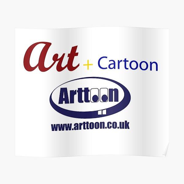 Art + Cartoon Poster