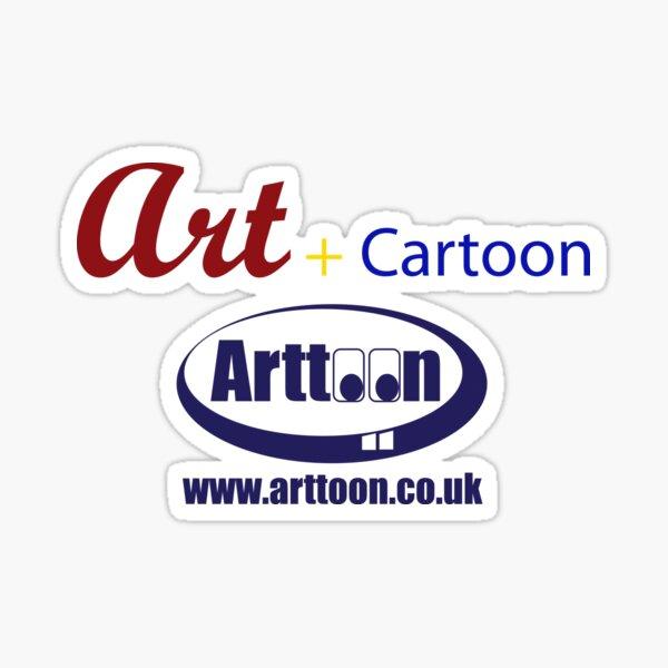 Art + Cartoon Sticker