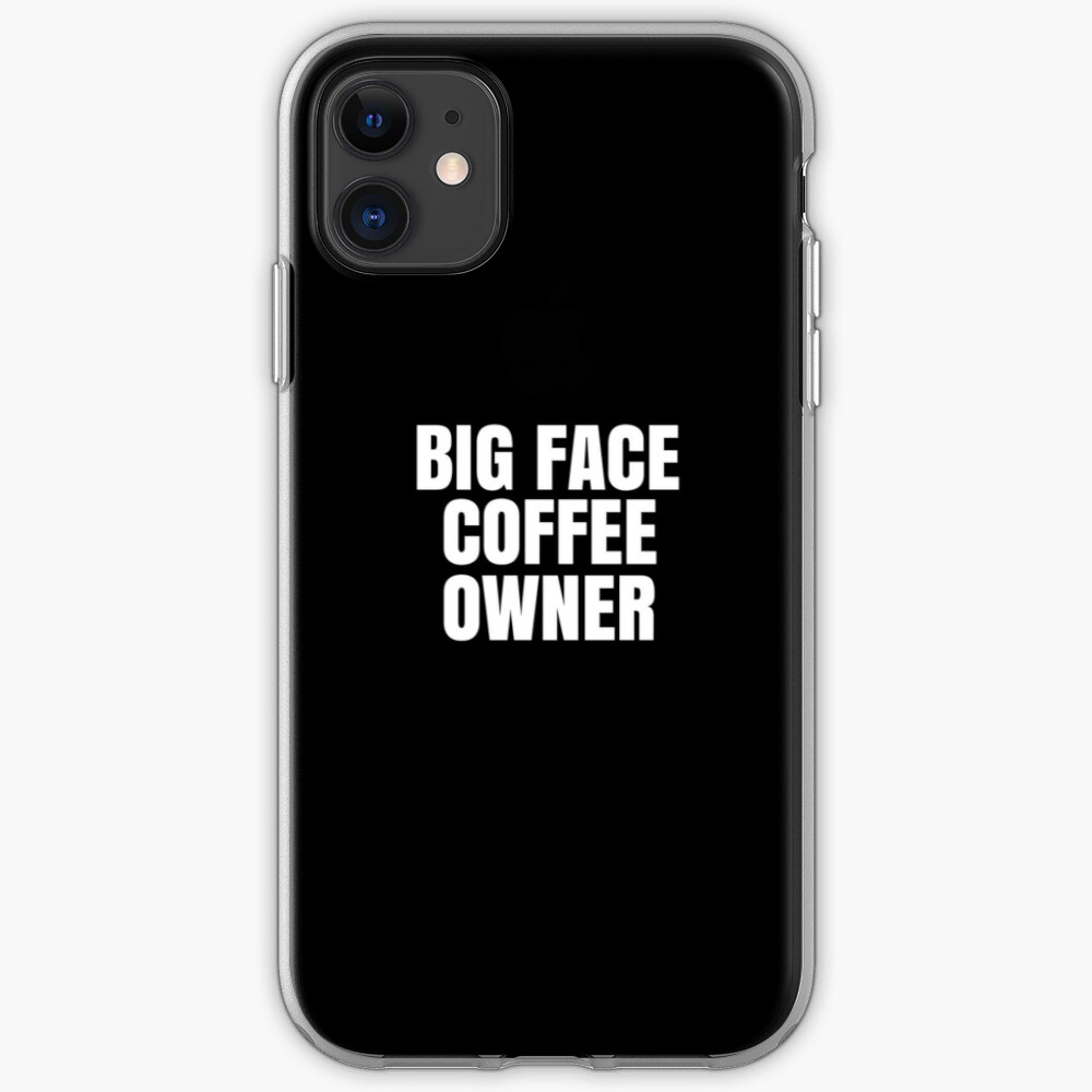 """BIG FACE COFFEE JIMMY BUTLER"" iPhone Case & Cover by ..."
