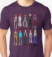 The stages of Bowie T-Shirt