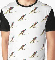 Ski Jumper Graphic T-Shirt