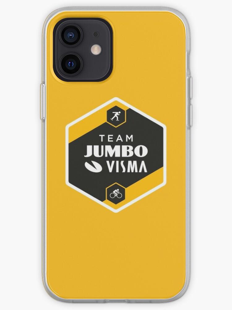 Team Jumbo Visma Cycling Tour de France   Coque iPhone