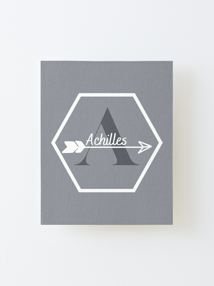 Alternate view of Achilles Mounted Print