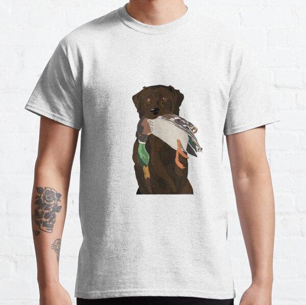 Chocolate Lab Bird Dog Classic T-Shirt
