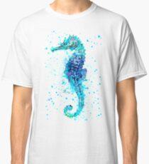 Blue Seahorse Classic T-Shirt