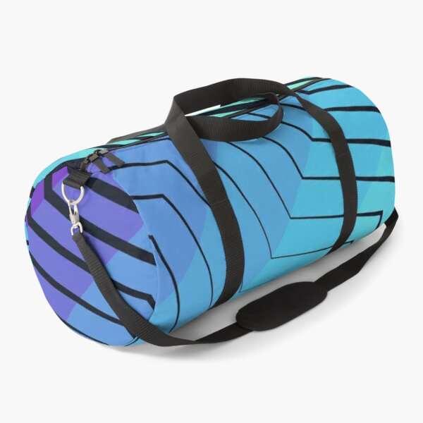 Zigzag Duffle Bag