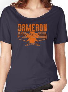 dameron flight school Women's Relaxed Fit T-Shirt