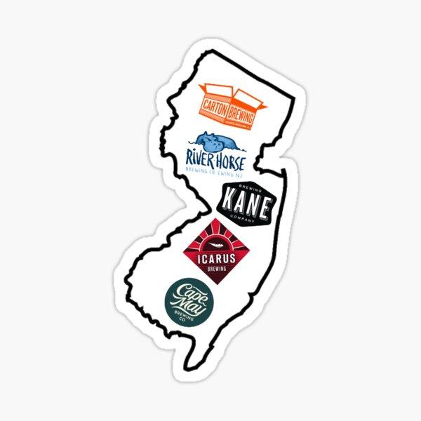 NJ Best Beer Sticker