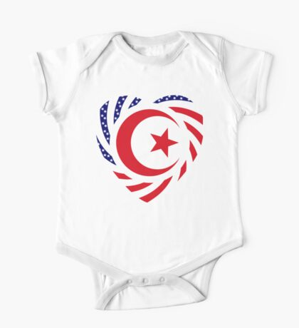 Muslim American Multinational Patriot Flag Series Kids Clothes