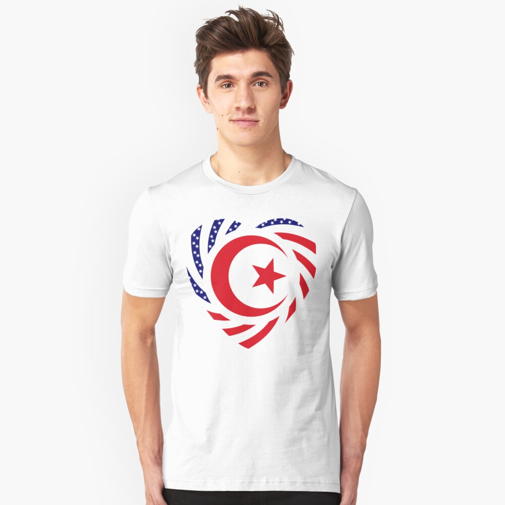 Muslim American Multinational Patriot Flag Series 2.0 Unisex T-Shirt