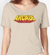 Arcade Yellow Women's Relaxed Fit T-Shirt