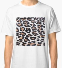 BLACK AND BROWN LEOPARD Classic T-Shirt
