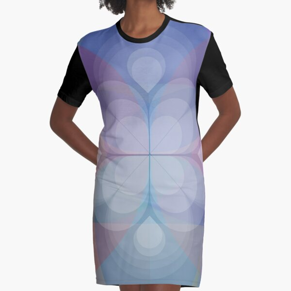 Madras  Graphic T-Shirt Dress