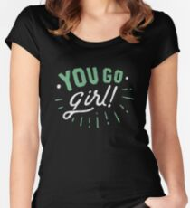 Girl Women's Fitted Scoop T-Shirt