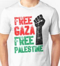 Free Gaza Free Paletina Unisex T-Shirt