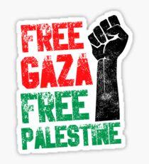 Free Gaza Free Paletina Sticker