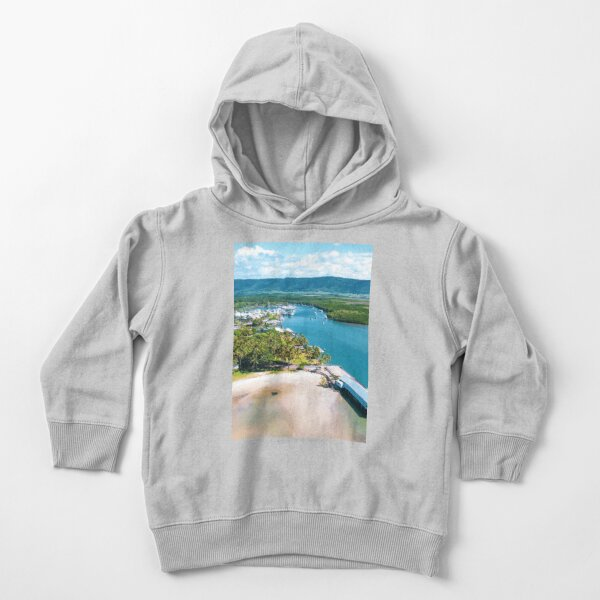 Port Douglas Marina and the sugar wharf Toddler Pullover Hoodie