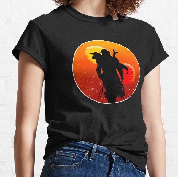Coucher de soleil en compagnie T-shirt classique