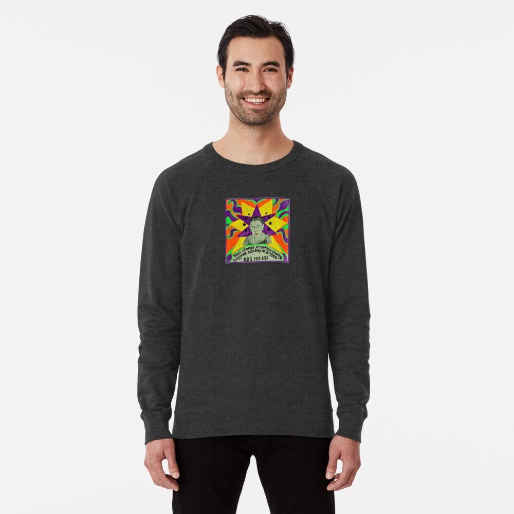 Ruth Bader Ginsburg with quote Lightweight Sweatshirt