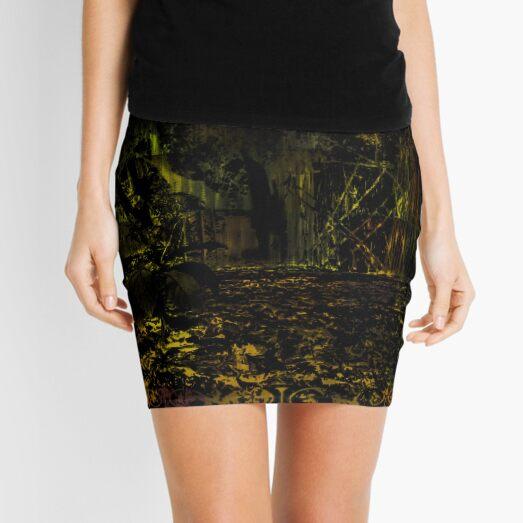 Forest garden Green Inversion 3 Mini Skirt