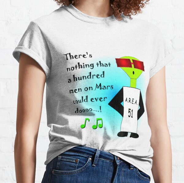 Men on Mars Classic T-Shirt