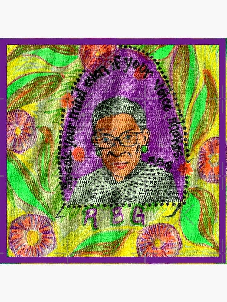 Ruth Bader Ginsburg with quote by Matlgirl