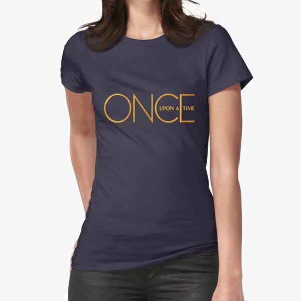 Once Upon A Time - logo Fitted T-Shirt