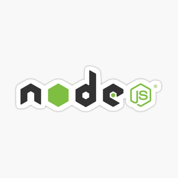 NodeJS clear Sticker