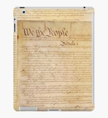 US CONSTITUTION iPad Case/Skin