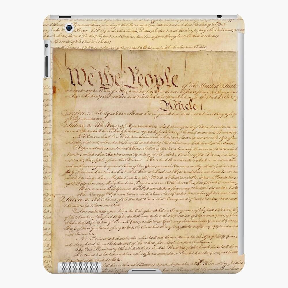 CONSTITUCIÓN DE LOS EEUU Funda y vinilo para iPad