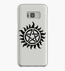 Supernatural Demon Possession Protection [BLACK] Samsung Galaxy Case/Skin