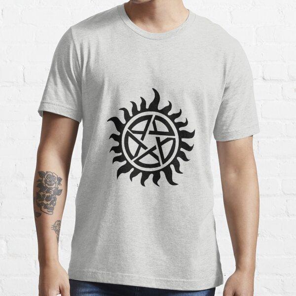 Supernatural Demon Possession Protection [BLACK] Essential T-Shirt