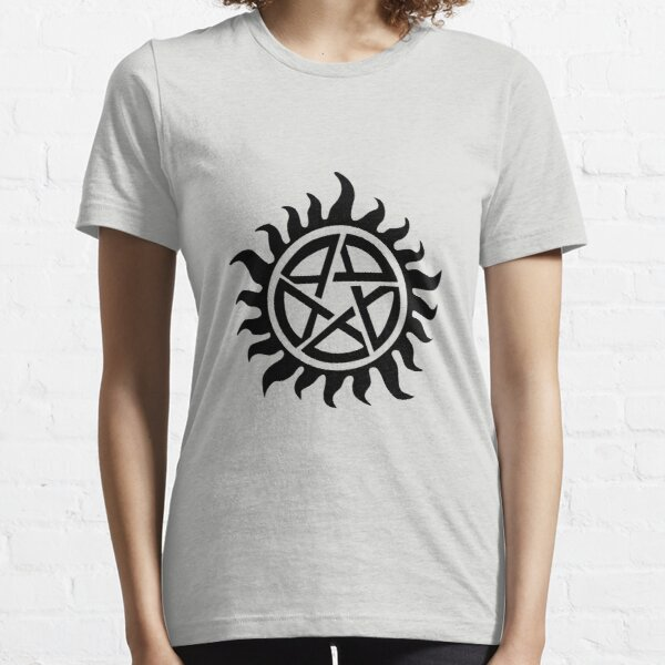 Supernatural Demon Possession Protection [BLACK] Essential T-Shirt