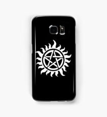 Supernatural Demon Possession Protection [WHITE] Samsung Galaxy Case/Skin
