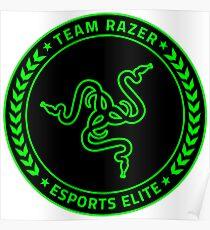 Razer Logo | Team Razer Esports Elite Poster