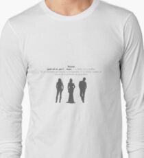 SwanFireQueen + Parents definition Long Sleeve T-Shirt