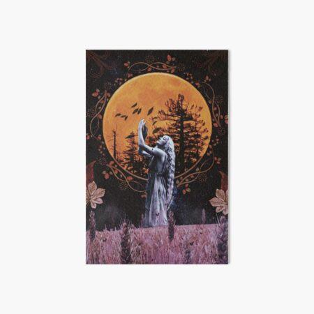 Harvest Moon Art Board Print