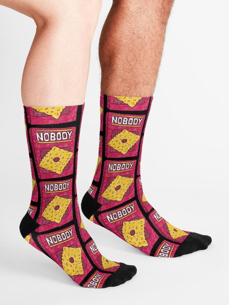 Alternate view of NOBODY (Black) Socks