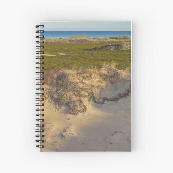 Dune. Island landscape Spiral Notebook