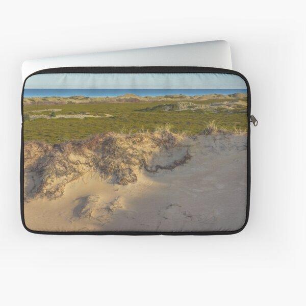 Dune. Island landscape Laptop Sleeve