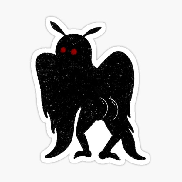 Mothman's Best ASSet Sticker